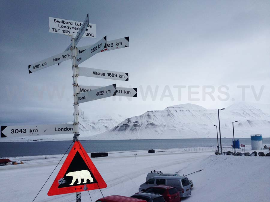 Longyearben, Svalbard ... gateway to polar bear country.